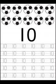 kindergarten number tracing worksheets number tracing worksheet