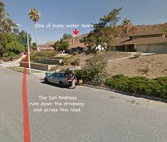 San Andreas Fault Line Map We Visit The Doomed Homes On The San Andreas Fault Culture Of