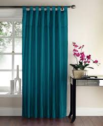 sequin swirl panel tab top curtains teal