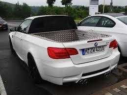 Bmwe92 Prank Bmw E92 M3 Pick Up Spotted At The Nurburgring Autoevolution