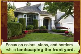 Front Lawn Landscaping Designs by Landscaping Ideas That Lend A Relaxing Effect To Your Front Yard