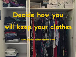 spring cleaning clear your wardrobe organised life and mind