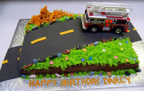firetruck cake ronna s truck cake