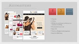 fashion newsletter templates email template watche wrist silver