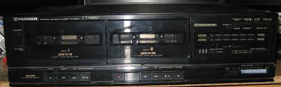 salvage and tech flashback pioneer ct w430 and compact cassettes