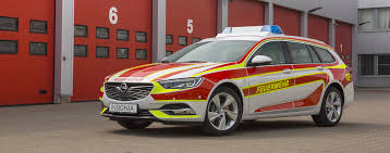 2018 opel insignia wagon opel insignia wagon looks slick in fire department livery roadshow