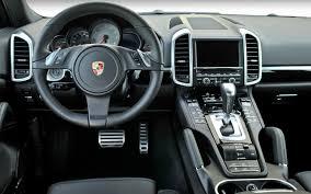 2011 Porsche Cayenne S - view 2015 2016 cayenne interior natural espressocognac interior