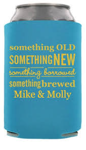 something something new something borrowed something brewed something something new wedding can coolers