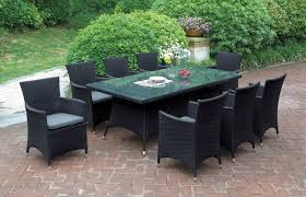 9 Piece Wicker Patio Dining Set - jb patio 9 piece dining set with cushions u0026 reviews wayfair