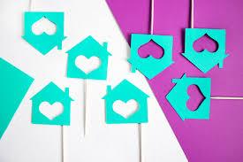 12 housewarming cupcake toppers new home housewarming