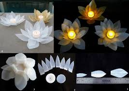 diy modular flower candle ornament diy projects usefuldiy