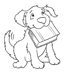 free dog coloring pages itgod