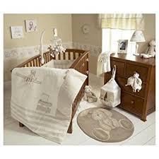 Beige Crib Bedding Set Mamas Papas Once Upon A Time Baby Bedding Set 4