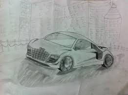 cars drawings best 3d pencil shading car audi car sketching drawing tricks