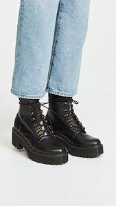 womens ugg leona boots dr martens leona hiker chunky lace up ankle boots shoes