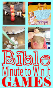 hollyshome church fun minute to win it old testament bible