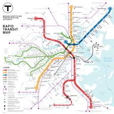 Stony Brook Map Boston Metro Map Competition Entry By Kenneth Miraski At Coroflot Com
