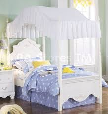 sky and white color kids canopy bed ideas trendy mods com