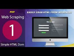 tutorial php web tutorial 1 simple htlm dom web scraping data setting up from