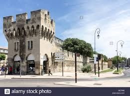 chambre du commerce avignon protection wall avignon provence stock photo royalty