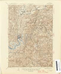 Toledo Map Oregon Historical Topographic Maps Perry Castañeda Map