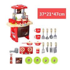 ustensiles de cuisine pour enfant kit jouet de cuisine pour enfant fille simulation d ensemble