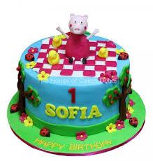 peppa pig cake pig cake 12