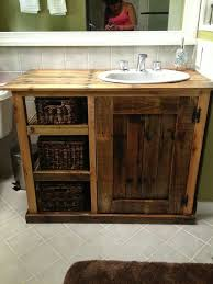 How To Build A Bathroom Vanity Best 25 Diy Bathroom Vanity Ideas On Pinterest Farmhouse Vanity