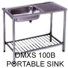 Modular Kitchen Unit - Portable kitchen sink