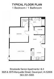 bathroom and walk in closet floor plans brookside senior living apartments davenport iowa