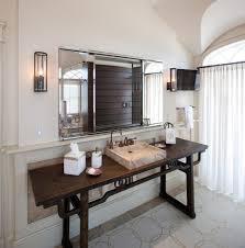 Beachy Bathroom Vanities by Los Angeles Modern Vanity Table Bathroom With Shared Top Vanities
