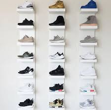 ikea shoe rack i reved my sneaker room and my boy wanted to make sure he got
