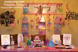 Princess Party Decorations Create Your Own Princess Birthday Party W Free Printables