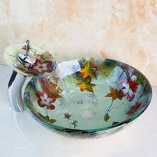 glass basin with stand cera wash models white solid slab marble