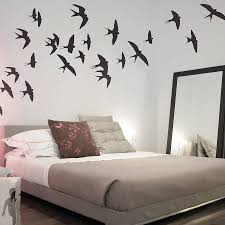 bedroom original swallows wall stickers cool features bedroom original swallows wall stickers cool features for bedrooms beautifull design