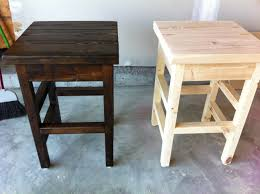 Indoor Wood Bench Plans Bar Stools Ana White Bar Stool Simple Modern Stools Diy Projects