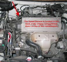 replace a 1998 honda accord vehicle speed sensor vss