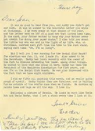letter from sean to the family at christmas 1983 welcome to our