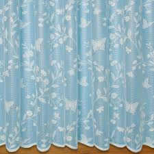 Butterfly Lace Curtains Butterfly Net Curtain In Cream Net And Voile Curtains