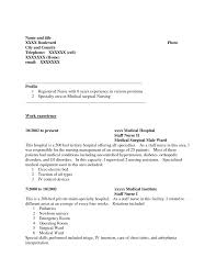 Nursing Resume Template Free Free Nursing Resume Samples Resume Template And Professional Resume