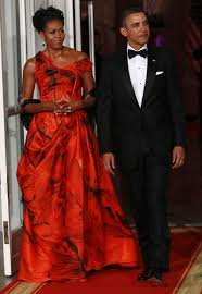obama dresses the finale that was obama s versace dress repeller