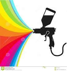spray paint vector stock vector image of white spray 40119792