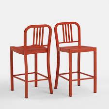 Garden Bar Stool Set by Eye Catching Impressive On Red Metal Bar Stool Stools Furniture