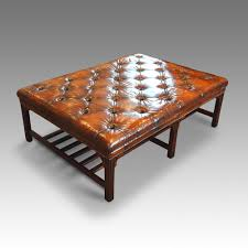 coffee table leather coffee table wood and glass stone top