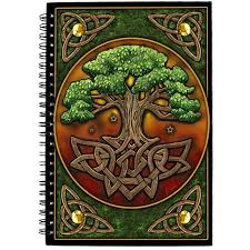 circle of tree journal wicca book of shadows journal