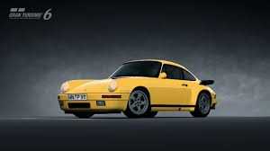 porsche yellow bird ruf ctr