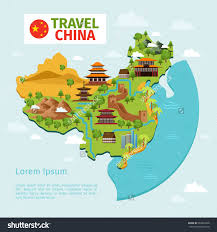 Continent Of Asia Map by Download Asia Landmarks Map Major Tourist Attractions Maps