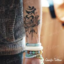 large temporary tattoo stickers waterproof men high quality