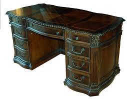 Old Wooden Furniture Old World Walnut Executive Office Desk Desks Executive Office