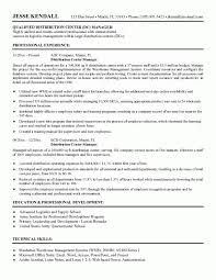 Warehouse Manager Resume Templates Sales Supervisor Description Template Supervisor Resume Sle